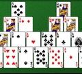 Игра Пасьянс Коврик: Крситальный трипеакс