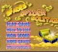 Игра Пасьянс: Черный паук