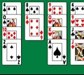 Игра Пасьянс - Гольф