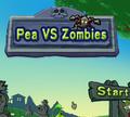 Игра Горох VS Зомби