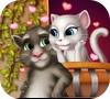 Игра Том и Анжела: Поцелуй
