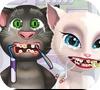 Игра Том и Анжела у стоматолога