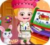 Игра Малышка Хейзел: Изучаем цвета