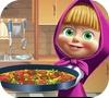 Игра Маша и медведь: Пицца тортилья