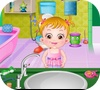 Игра Малышка Хейзел: Гигиена в ванной