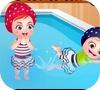 Игра Малышка Хейзел: Время купания