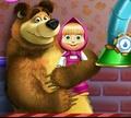 Игра Маша и медведь: Ремонт игрушек