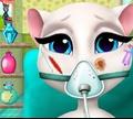Игра Говорящая Анжела: Хирургия