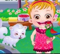 Игра Малышка Хейзел: Уход за попугаем