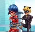 Игра Супер-кот спасает Лежи Баг