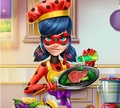 Игра Леди Баг: Приготовить обед