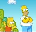 Игра Барт и Гомер в мире Марио