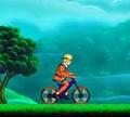 Игра Наруто на велосипеде