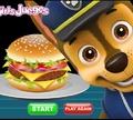 Игра Щенячий патруль: Бургер