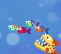 Игра Проворная рыбка