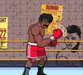 Игра Бокс: Сильный удар