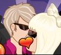 Игра Поцелуй Леди Гагу!