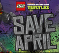 Игра Лего черепашки ниндзя: спасти Эйприл