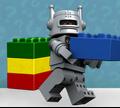 Игра Лего: Минифигурки Строитель Кирпичей