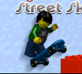 Игра Лего: Минифигурки - Уличный скейтер