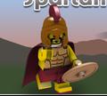 Игра Лего: Спартанец метатель