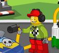 Игра Лего Джуниор: Заправь Гонщика