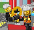 Игра Лего Джуниор: Пожарники