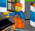 Игра Лего заправка