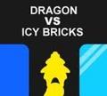 Игра Дракон против ледяных блоков