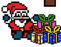 Игра Пиксельный Санта