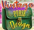 Игра Винтажный дизайн сумки