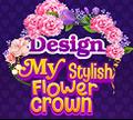 Игра Дизайн Стильной Цветочной Короны