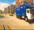 Игра Водитель мусоровоза