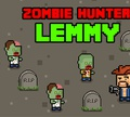 Игра Лемми охотник на зомби