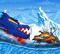 Игра Машина ест машину: Зимние приключения