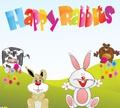 Игра Счастливые кролики