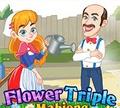 Игра Цветочный Тройной Маджонг