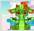 Игра Пазл Симпатичные Единороги и Драконы