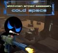 Игра Стикмен вооруженный убийца: Холодное пространство