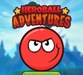 Игра Приключения шара героя