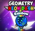 Игра Геометрия Даш: Неоновая радуга