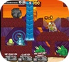 Кадр из игры Пещерные люди ПРОТИВ Динозавров: Кокосовый Бум