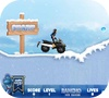 A shot of the game Rancho Ice Rider