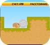 A shot of the game run run hamster