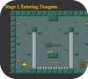 Кадр из игры Опасные подземелья