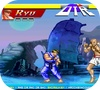 A shot of the game street fighter 2