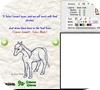 Кадр из игры Рисовалка: Лошадь