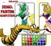 Кадр из игры Дракон: Художественный конкурс