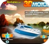 A shot of the game 3D Motorboat