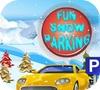 Кадр из игры Зимний паркинг